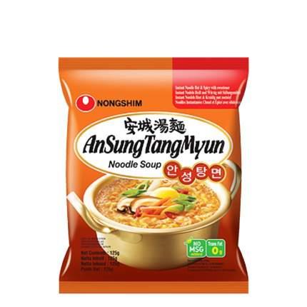 Лапша быстрого приготовления Ансан Танмён Nongshim пачка 125 г