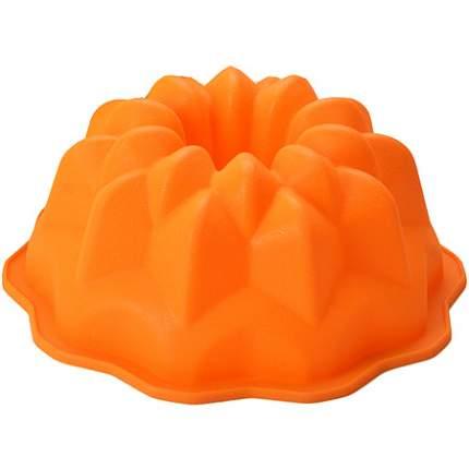 Форма для выпечки Mayer&Boch 1,8 л силикон, оранжевая, 28061-1