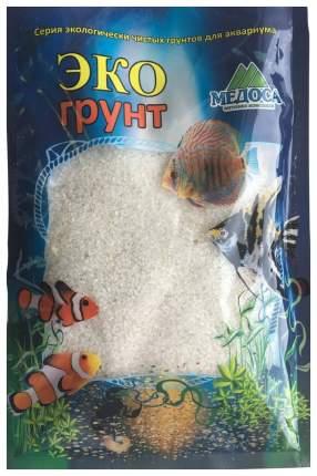 Грунт для аквариума ЭКОгрунт Кварцевый песок Кристальный 1 - 2 мм 3,5 кг