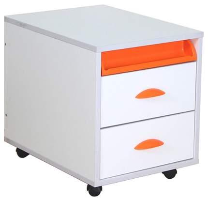 Тумба ТУВ-01-01 серия White (цвет товара: оранжевый)