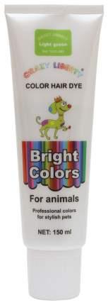 Краска для шерсти животных Crazy Liberty 10.CL.003, светло-зеленая, 150мл