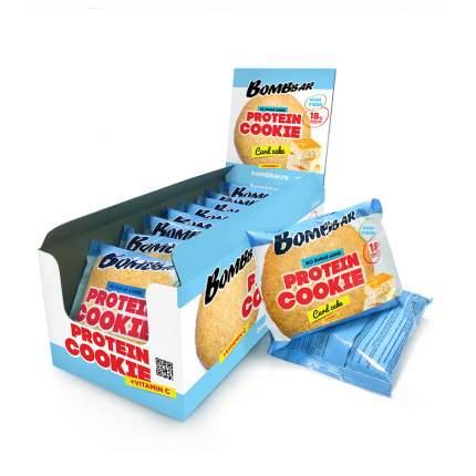 Печенье неглазированное Bombbar 60гр (коробка 10 шт.), Творожный кекс