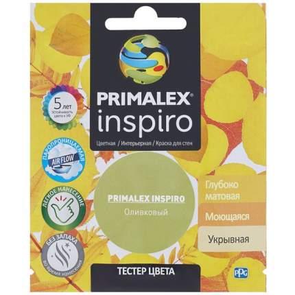 Краска для внутренних работ Primalex Inspiro Тестер 40мл Оливковый, PMX-I9