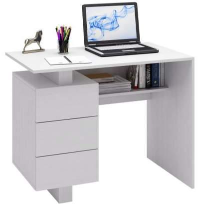 Стол компьютерный МФ Мастер Ренцо-1 60x100x78, белый