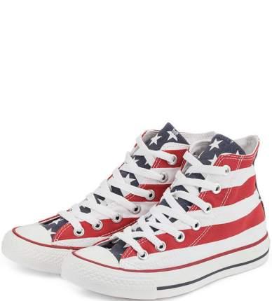 Кеды женские Converse M8437_W синие/белые/красные 37