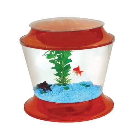 Аквариум для рыб AA-Aquariums Gold Fish Bowl 36, бесшовный, оранжевый, 17 л