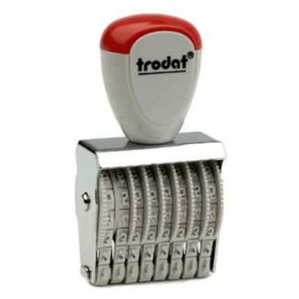 Нумератор ленточный Trodat Classic Line 1538. 8 разрядов. Высота шрифта: 3 мм.