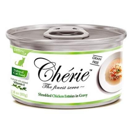 Консервы для кошек и котят Pettric Cherie, курица с овощами, 80г