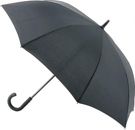 G828-01 Black (Черный) Зонт мужской трость автомат Fulton