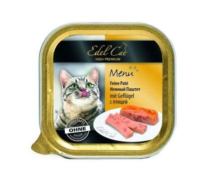 Консервы для кошек Edel Cat Menu, паштет с птицей, 32шт по 100г