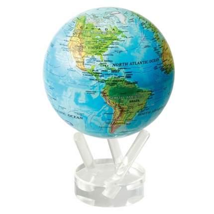 Глобус самовращающийся MOVA GLOBE d12 см с общегеографической  картой Мира/MG-45-RBE