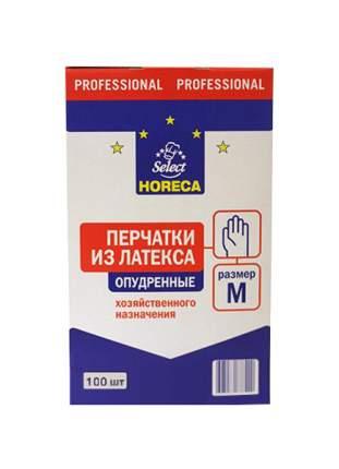 Перчатки для уборки Horeca Select Нитриловые неопудренные размер M 100 шт