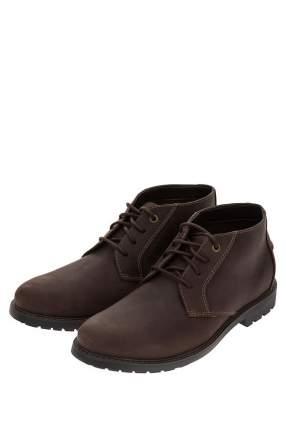 Ботинки мужские Clarks коричневые