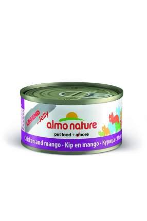 Корм для взрослых кошек ALMO NATURE CAT LEGEND HFC с курицей и манго 70 гр