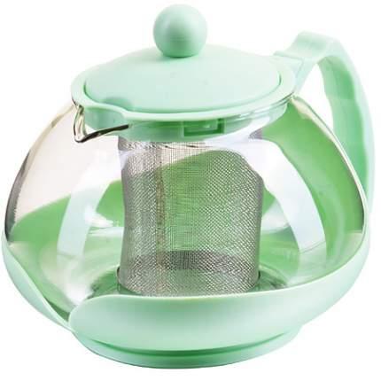 Заварочный чайник 750мл сито ЗЕЛЕНЫЙ MB (х24) 28827