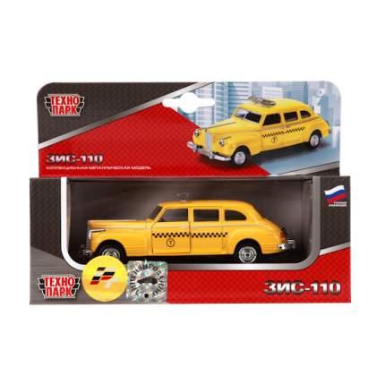 Машина Технопарк инерционная, металлическая ЗИС 110 такси 6406c