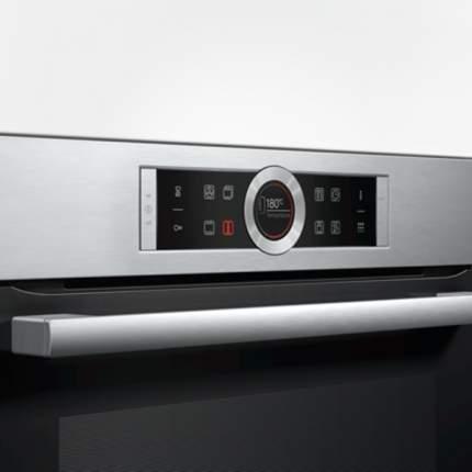 Встраиваемый электрический духовой шкаф Bosch HBG672BS1F Silver
