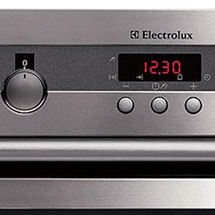 Встраиваемый электрический духовой шкаф Electrolux EOB64201X Silver