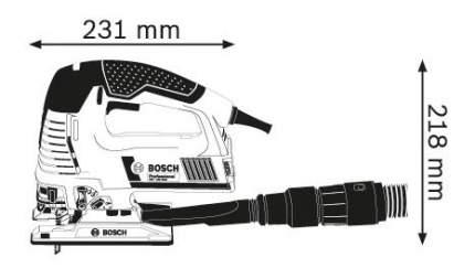 Сетевой лобзик Bosch GST 160 BCE 601518001
