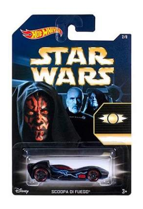 Машинка Hot Wheels Star Wars Scoopa Di Fue CKJ41 CKJ46