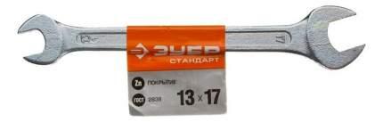 Рожковый ключ Зубр 27115-13-17