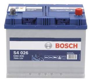 Аккумулятор автомобильный автомобильный Bosch S4 Silver 0 092 S40 260 70 Ач