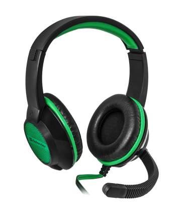 Игровые наушники Defender Warhead G-200 Black/Green