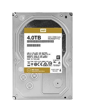 Внутренний жесткий диск Western Digital Gold 4TB (WD4002FYYZ)