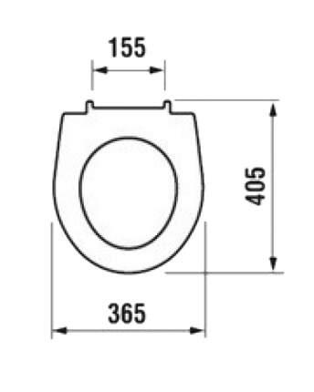 Сиденье для унитаза JIKA Lyra Plus 8.9338.0.300.063.1(9)