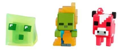Игровой набор Mattel Набор из 3-х Фигурок Minecraft