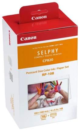 Термосублимационной набор Canon SELPHY RP-108