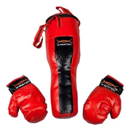Боксерский набор детский X-Match груша и боксерские перчатки