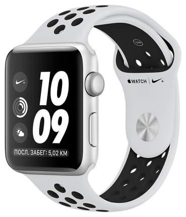 Смарт-часы Apple Watch Series 3 Nike+ 42mm Silver Al/Black Nike Band (MQL32RU/A)