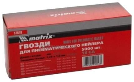 Гвозди для электростеплера MATRIX 57616