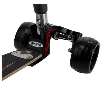 Самокат Micro Kickboard Monster Interchangeable черный