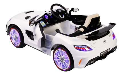 Электромобиль Mercedes-Benz SLS VIP белый RIVERTOYS