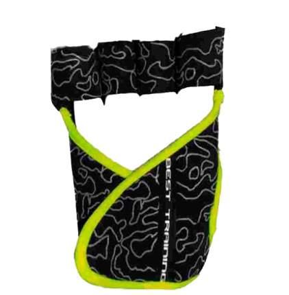 Перчатки для фитнеса Chiba Lady Motivation Glove, черные/серые/зеленые, XS