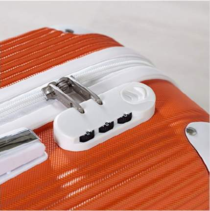 Чемодан Ornelli 21730-2 оранжевый M