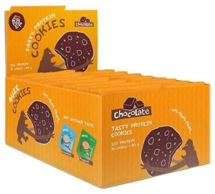Протеиновое печенье PureProtein Fuze Cookies 40 г шоколад