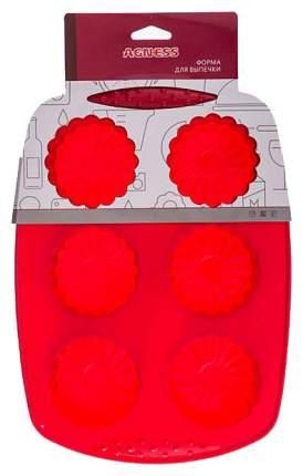 Форма для выпечки Agness 710-313 Красный
