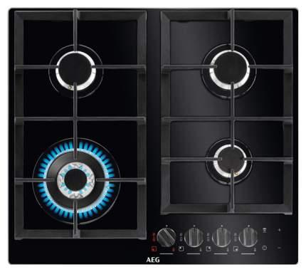 Встраиваемая варочная панель газовая AEG HKR64540NB Black
