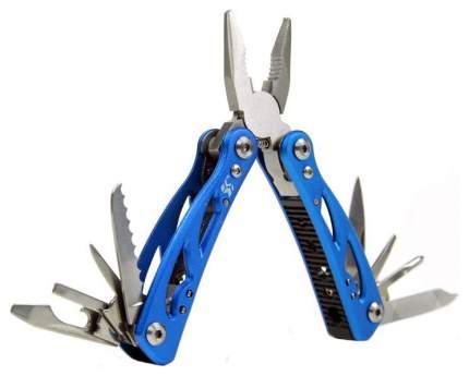 Мультитул Swiss+Tech Pocket ST35015 73 мм синий, 12 функций