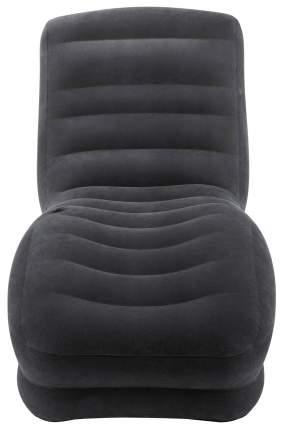Надувное кресло-шезлонг Intex «Mega Lounge» (86х107х94 см) с68595 Черный