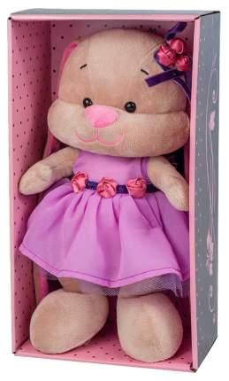 Мягкая игрушка Jack&Lin Зайка Лин в фиолетовом платье 25 см JL-021-25-КСО