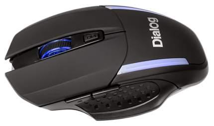 Беспроводная мышь Dialog MROK-10U Black