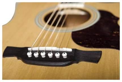 Электроакустическая гитара шестиструнная CRAFTER GAE-6 N  Чехол