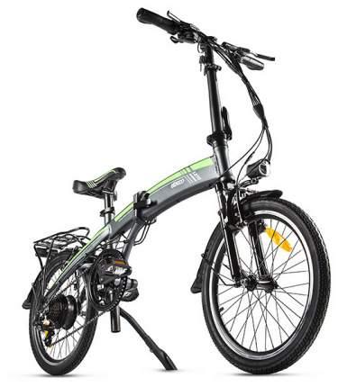 """Электровелосипед Eltreco Leto 2019 22.5"""" gray"""