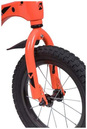 "Велосипед NOVATRACK 14"", Mагний-Алюминиевая рама, BLAST, оранж. Неон"