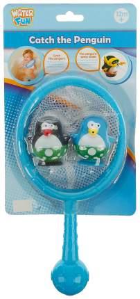 Игрушки для купания «Весёлые пингвины», сачок Sima-Land