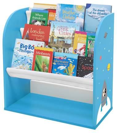 """Стеллаж детский книжный Polini kids Disney baby 800 """"Микки Маус """", с текстильными полками"""